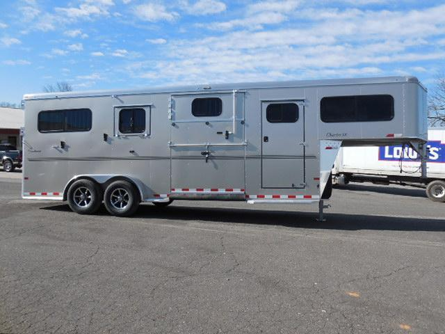 2016 Sundowner Trailers 2 + 1 with Dress Horse Trailer