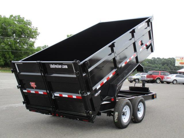 2020 PJ Trailers 14 x 83 Low Pro High Side Dump Trailer