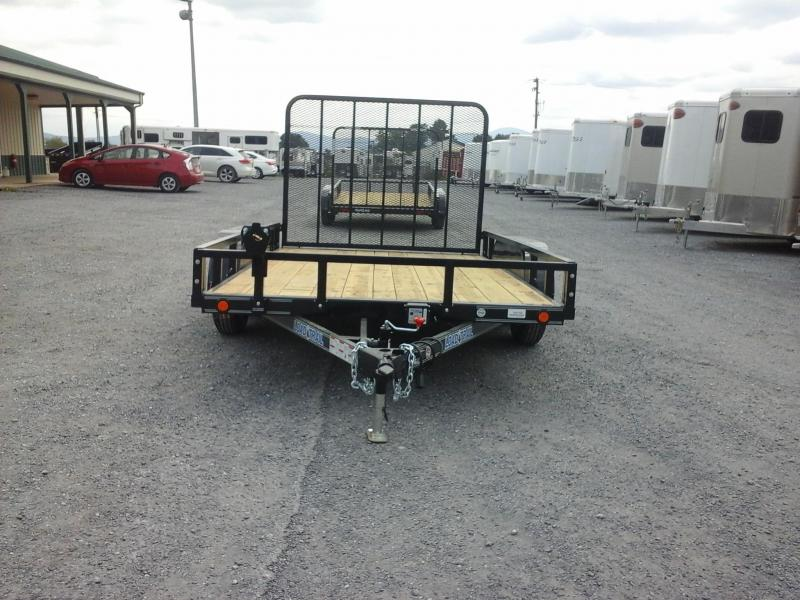 2018 Load Trail 83 x 12 Tandem Axle Utility Trailer