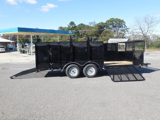 2017 Load Trail BP 83 x 18 TA Landscape Utility Trailer