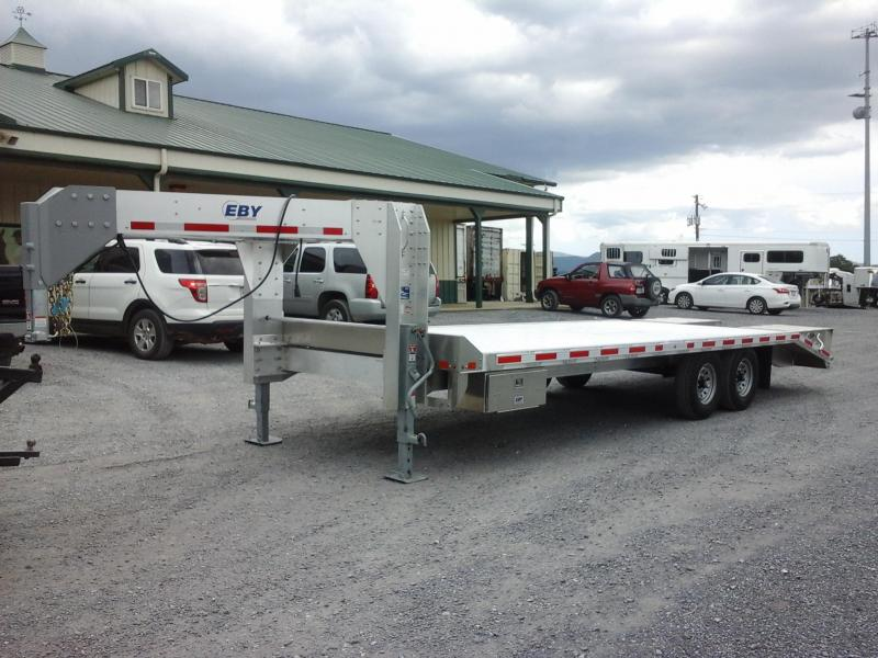 2018 Eby Trailers 102x246 Flatbed Trailer