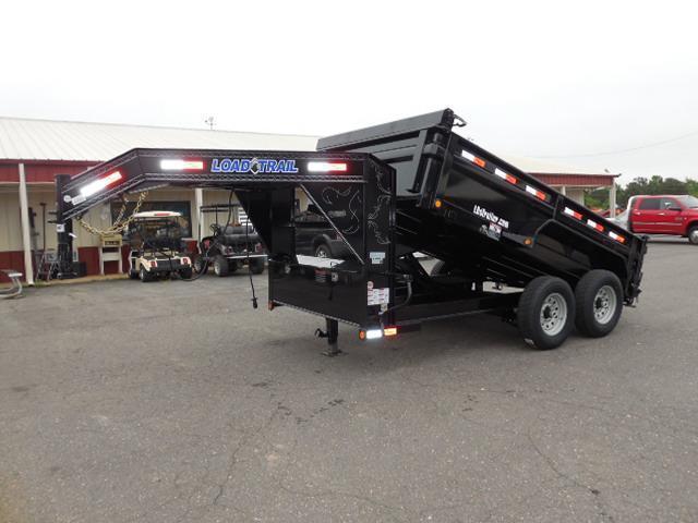 2017 Load Trail 83 x 12 Low Pro Dump Trailer