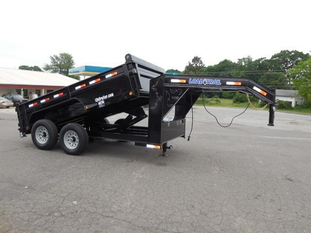 2017 Load Trail 83 x 12 Low Pro Dump Trailer in Ashburn, VA