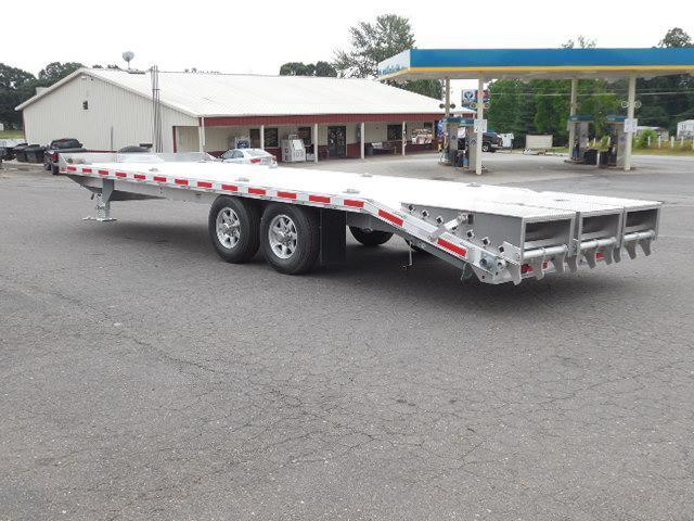 2017 Eby Trailers 24ft 6in Deck Over Utility Trailer