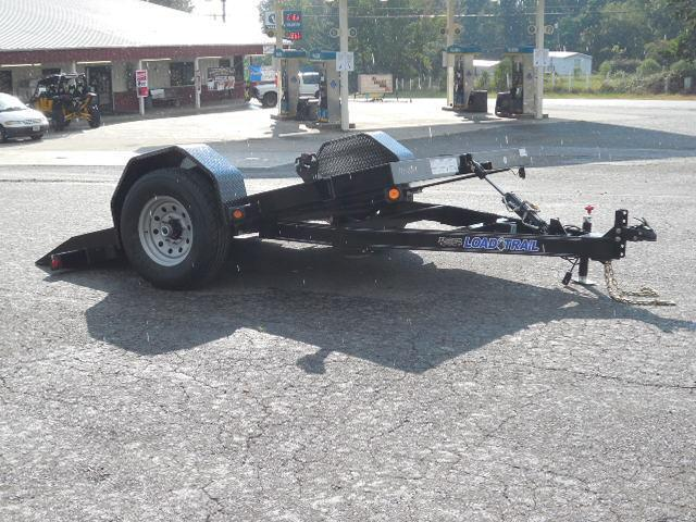 2017 Load Trail 77 x 10 SA Scissor Hauler Equipment Trailer