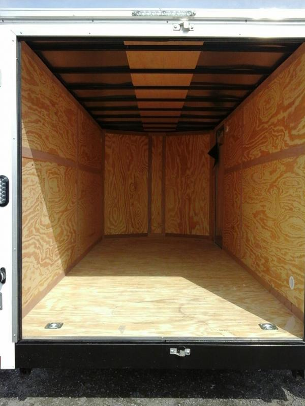 2019 Forest River 7x16 TA Enclosed Cargo Trailer