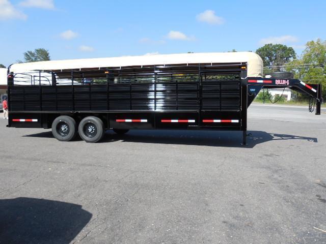 2016 Rollin-S 24 Pipe trailer Livestock Trailer