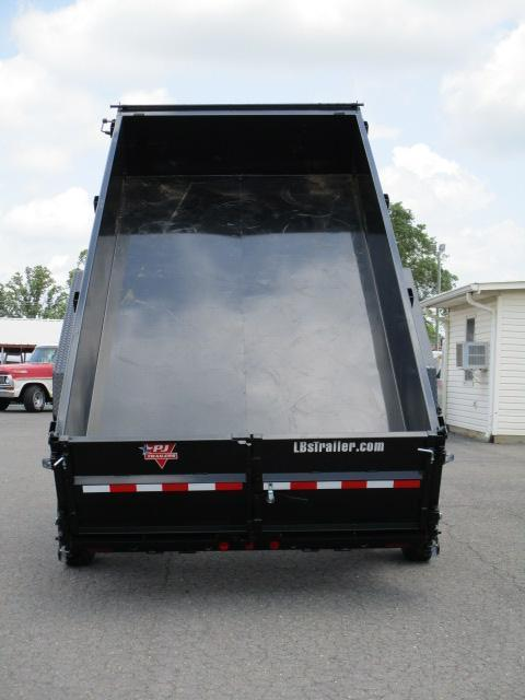 2020 PJ Trailers 16 x 83 Low Pro Dump Trailer