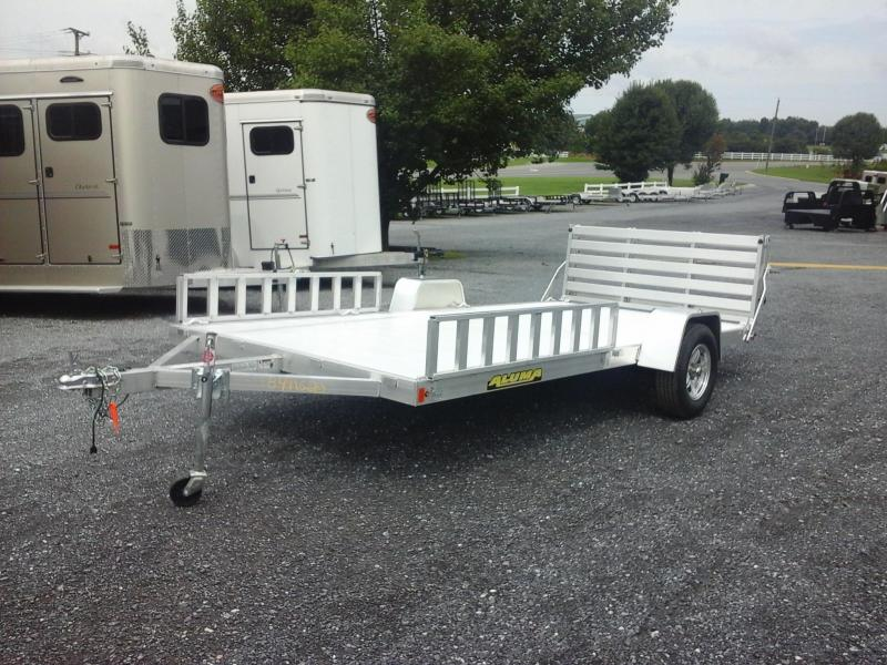 2018 Aluma 81x14 SR Utility Trailer in Ashburn, VA