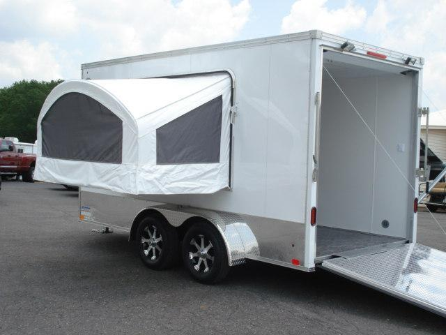 2011 United Trailers 7 x 14 Motorcycle Trailer