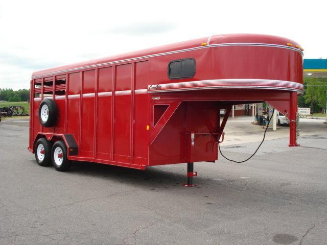 2012 CornPro Trailers 16ft w/Dress Stock / Stock Combo Trailer