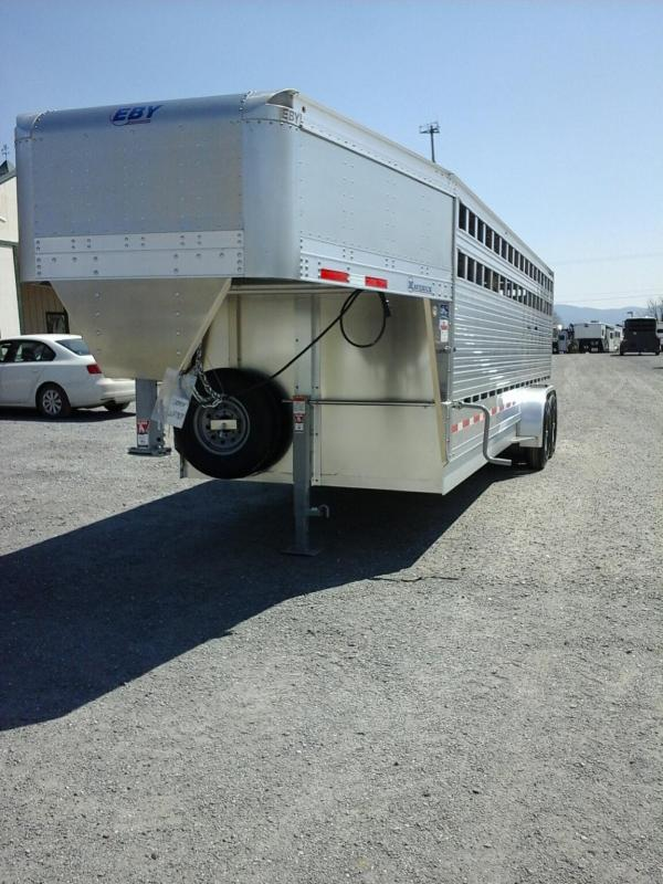 2020 EBY 24ft Maverick Freedom Plus Livestock Trailer