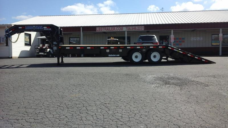 2018 Load Trail GN 102 x 26 Hyd Dove Equipment Trailer