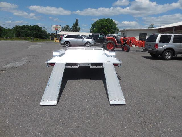 2017 Aluma 8218H WB Car / Racing Trailer in White Stone, SC