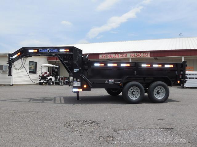 2017 Load Trail GN 83 x 12 Dump Trailer