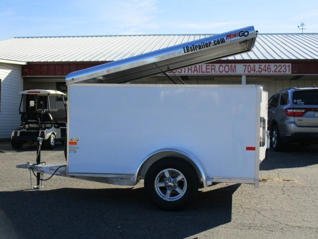 2019 Sundowner Trailers Mini Go 5 x 8 Enclosed Cargo Trailer in Yadkinville, NC