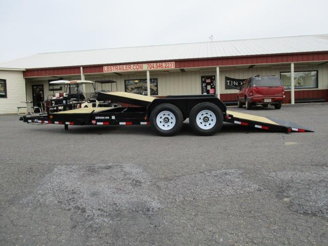 2019 PJ Trailers 20ft Tilt Equipment Trailer