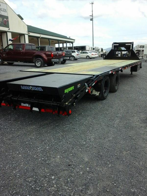 2019 Load Trail 102x32 TA Low-Pro GN Equipment Trailer