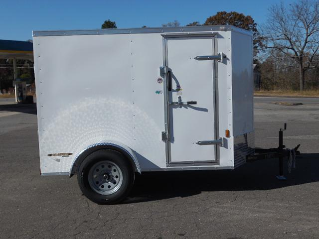 2017 Continental Cargo 5 x 8 Enclosed Cargo Trailer