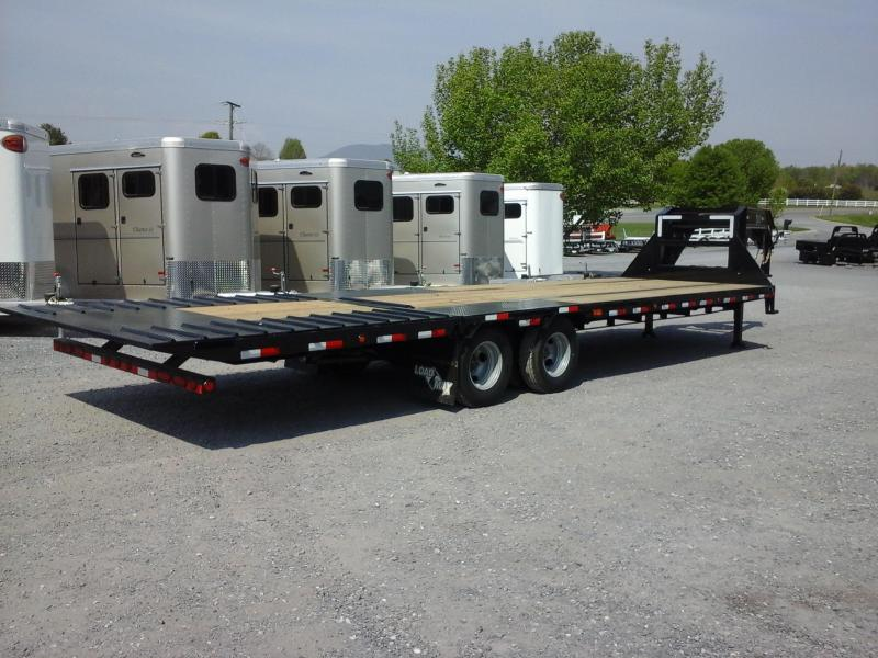 2017 Load Trail Dual Tandem Low-Pro GN Flatbed Trailer