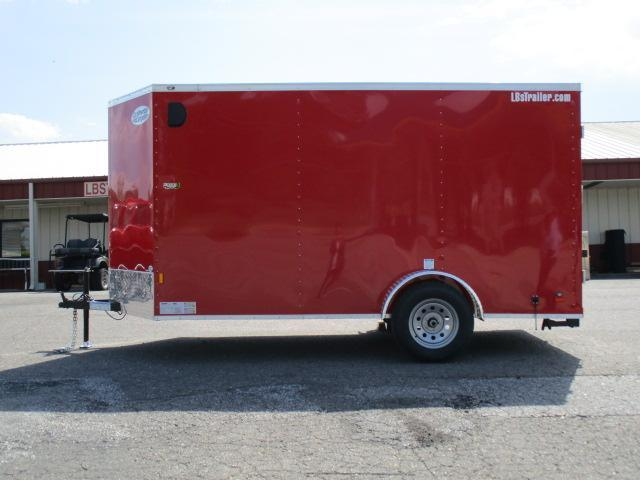 2020 Continental Cargo 6 x 12 Enclosed Cargo Trailer in Cleveland, NC