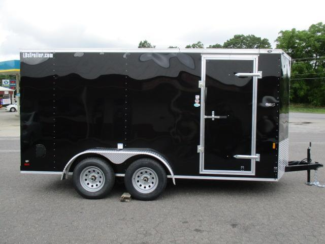2020 Continental Cargo 7 x 14 Enclosed Cargo Trailer in North Wilkesboro, NC