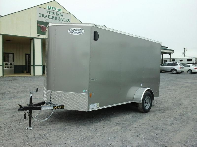 2019 Forest River 6x12 SA Enclosed Cargo Trailer