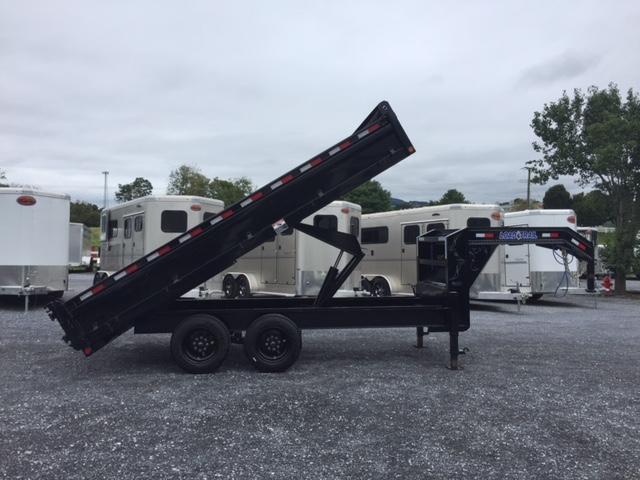 2019 Load Trail 96x16 TA GN Deckover Dump Trailer