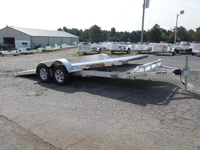 2015 Aluma 8218 Tilt Car / Racing Trailer