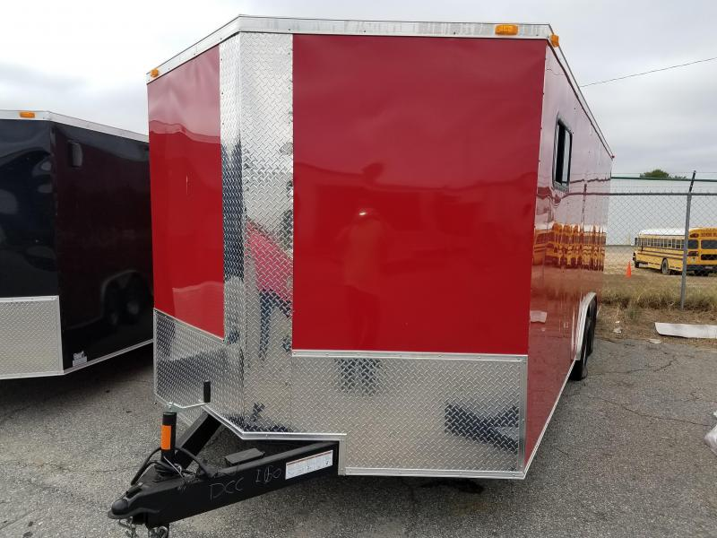 2018 Grizzly Trailers (8.5 x 20) TA2 Enclosed Cargo Trailer