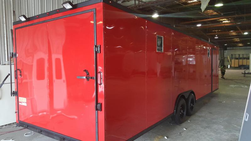 2018 Grizzly Trailers ( 8.5 x 28 TA3 ) Toy Hauler