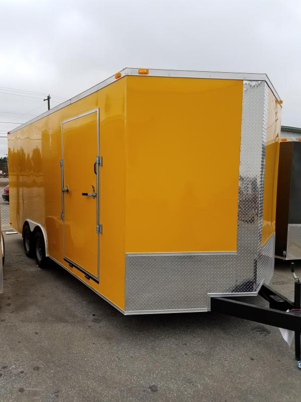 2018 Grizzly Trailer 8.5 x 20 TA3 Toy Hauler