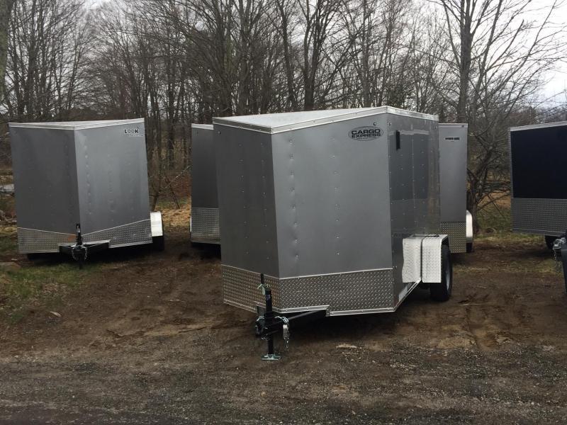 2020 Cargo Express EXDLX6X10 Enclosed Cargo Trailer