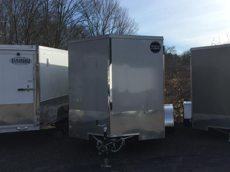 2018 Wells Cargo WCGV-500 Enclosed Cargo Trailer
