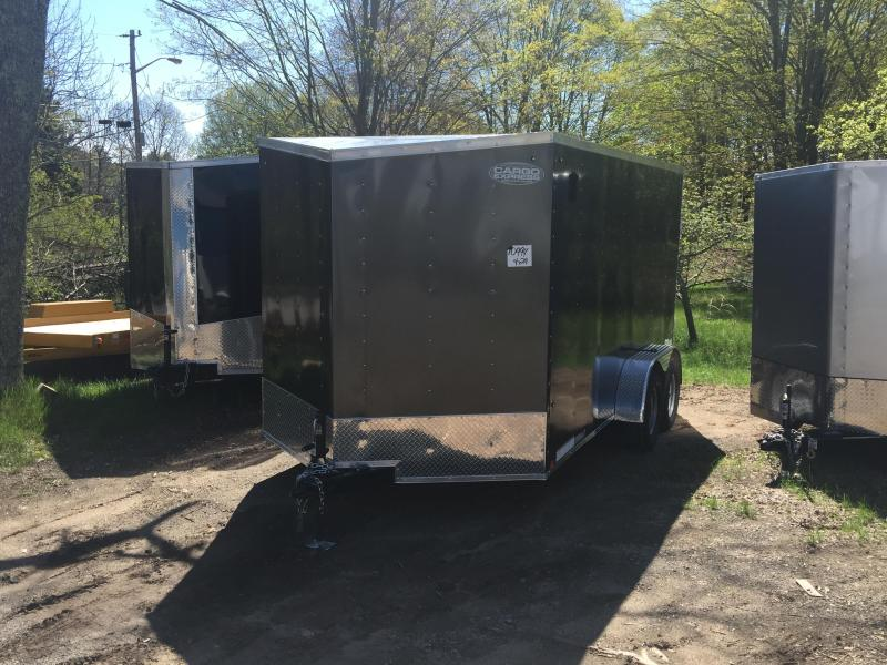 2020 Cargo Express EXDLX 7x14 Enclosed Cargo Trailer