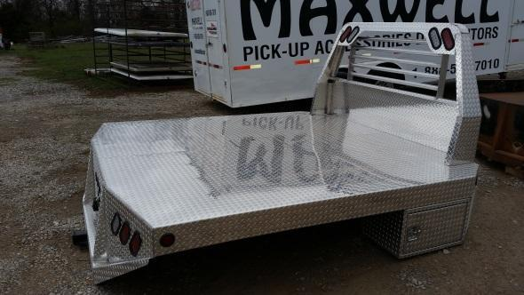 Aluminum Replacement Flatbed w/ Tapered Boxes