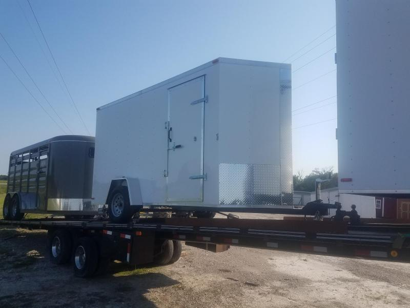 2020 Maxwell WINDBREAKER Enclosed Cargo Trailer