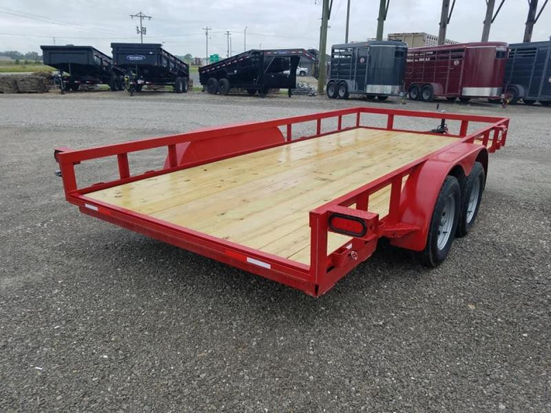 2020 Maxwell Deluxe Wrapped Tongue Utility Trailer