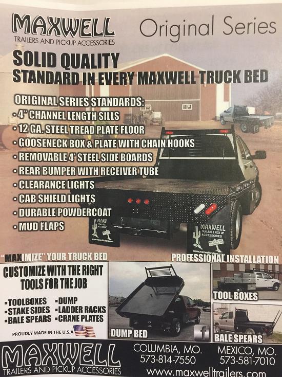 Maxwell Original Series Truck Beds
