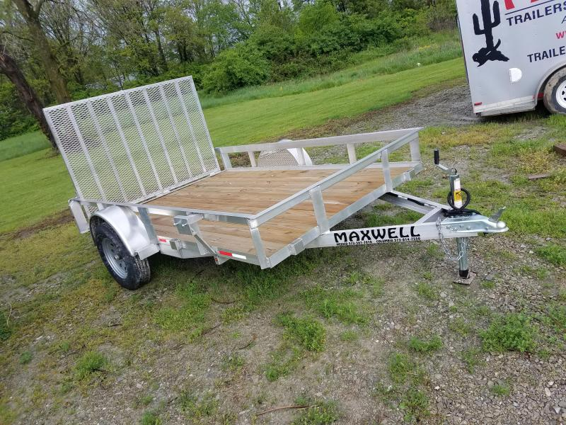 2020 Maxwell ALUMINUM SINGLE AXLE Utility Trailer