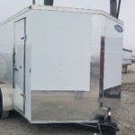 New 2019 Maxwell 7 x 12 Enclosed Cargo Trailer