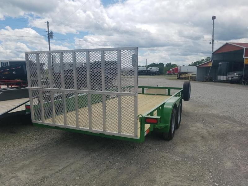 2019 Maxwell Deluxe Wrapped Tongue Utility Trailer
