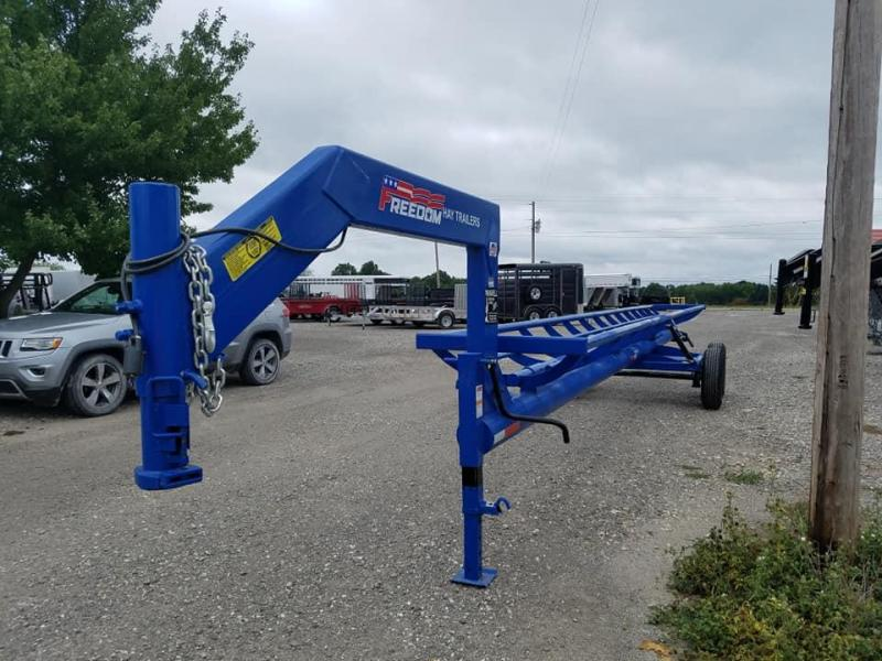 New Freedom 36 ft GN Hay Trailer