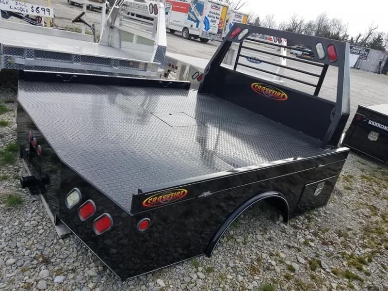 2020 Maxwell Crossfire 2 Box Skirted Truck Bed
