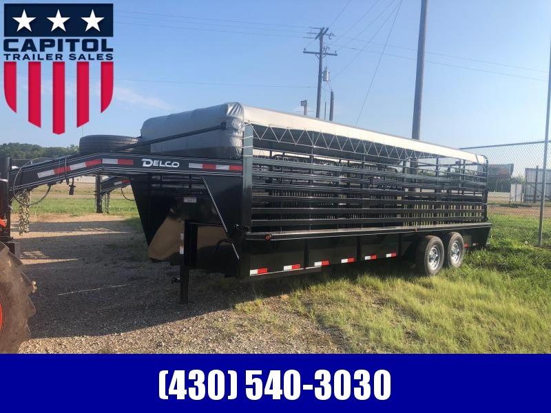 2019 Delco Trailers GB68X2427K Livestock Trailer in Ashburn, VA
