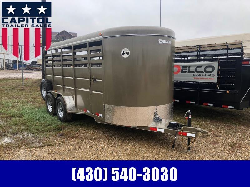 2019 Delco Trailers BS06162521 Livestock Trailer