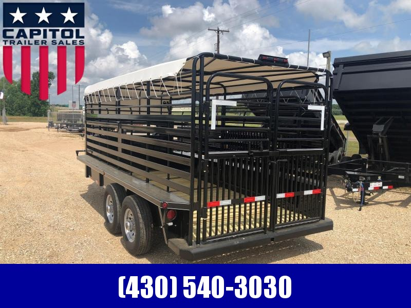 2018 Delco Trailers GB6816270 Livestock Trailer