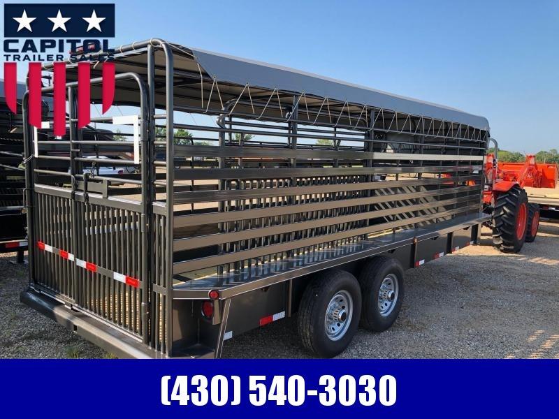 2019 Delco Trailers GB68X2027K Livestock Trailer in Ashburn, VA