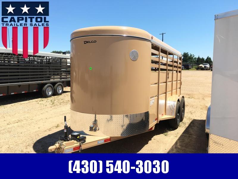 2019 Delco Trailers BS06162521 Livestock Trailer in Ashburn, VA