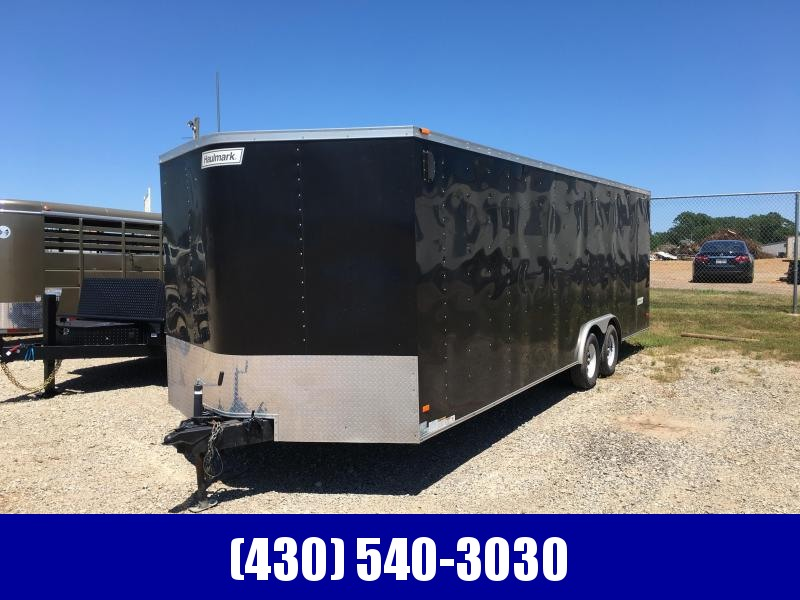 2013 Haulmark 8x24 Enclosed Cargo Trailer
